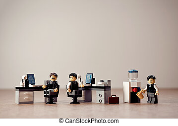 Colleagues in office. Illustrative editorial. September 02, 2021