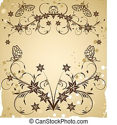 Collect flower border