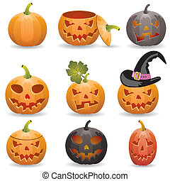 Collect Pumpkin for Halloween - Big collect Halloween ...