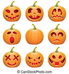 Collect Pumpkin for Halloween - Big collect Halloween...