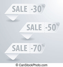 Collect Sale Signs - Collect Paper Sale Signs with Tear-off...