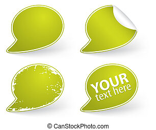 Collect Sticker, element for design, vector illustration