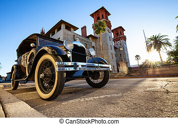 collectible, öreg, szüret autó