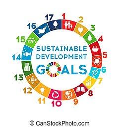 collectief, responsibility., duurzaam, globaal, goals., ...