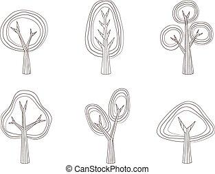 collection, arbre, v2