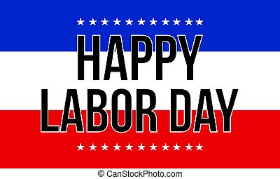 Collection background labor day style vector art