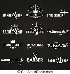 collection barbershop set