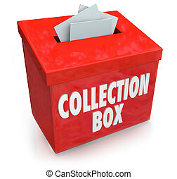 Collection Box Fund Raising Drive Donation Support Money Help