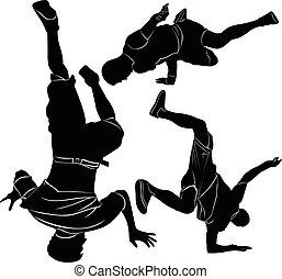 collection breakdance break dance.