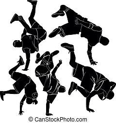 collection breakdance break dance
