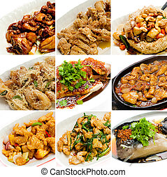 collection chinese asian food - collection chinese food. ...