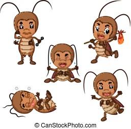 clip art et illustrations de bedbug 1 063 dessins et illustrations libres de droits de bedbug. Black Bedroom Furniture Sets. Home Design Ideas