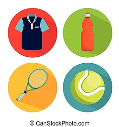 collection elements tennis game