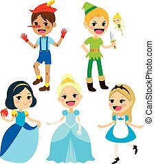 Collection Fairy Tale Characters