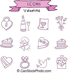 Collection icon of valentine day