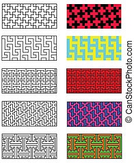 Collection models of the japanese pattern