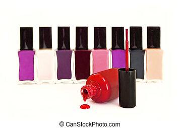 Collection nail Polish.