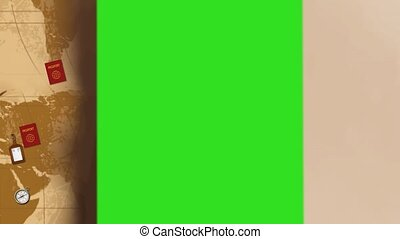 Collection of 3d animated abstract background -  03