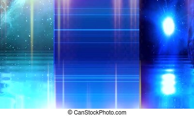 Collection of 3d animated abstract backgrounds joined with transactions. No.26
