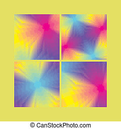 Collection of Abstract Geometrical Backgrounds - Collection...
