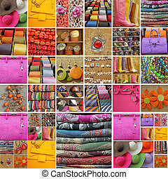 collection of accessories - collection of fancy women and ...