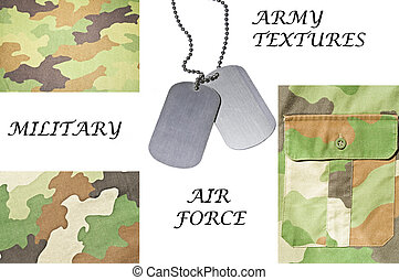 Collection of army and military textures with ID tag
