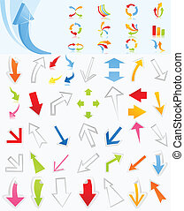 Collection of arrows4