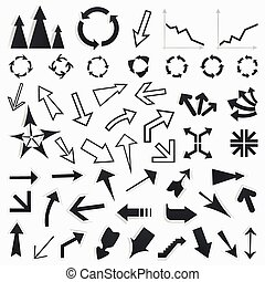 Collection of arrows5