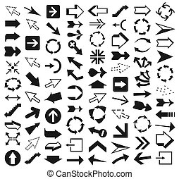Collection of arrows9