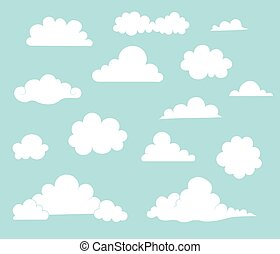 Collection of Cartoon Clouds