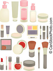 Collection of Chic makeup Icon - Vector File EPS10