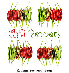 Collection of Chili Peppers