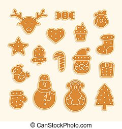 Gingerbread set