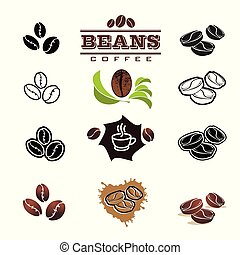 Collection of Coffee Design Elements. Vector Illustration