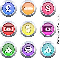 money buttons