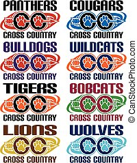 cross country - collection of cross country team designs ...
