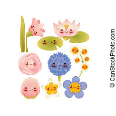 Collection of Cute Flowers