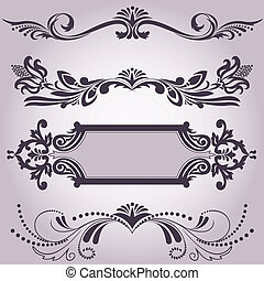 collection of decorative elements 3