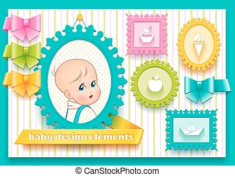 Collection of design elements for decoration child theme