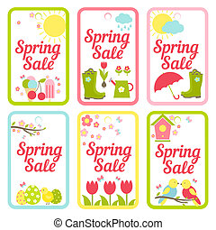 Collection of designs for Spring Sale signs - Collection of ...