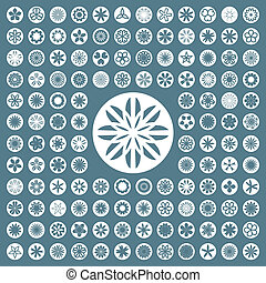 Collection of different graphic elements