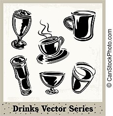 Collection Of Drinking Glasses 2