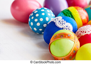 Collection of Easter eggs