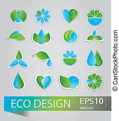 Collection of ecology signs