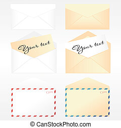Collection of envelopes