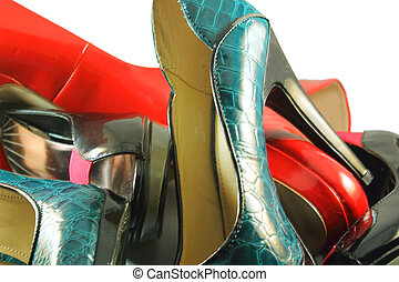 Collection of fashion shoes