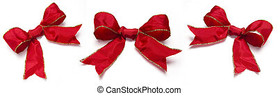 collection of festive ribbons