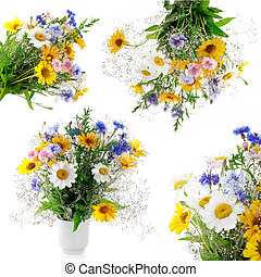 Collection of fresh bouquet