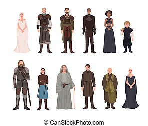 Collection of Game of Thrones fantasy novel and television...