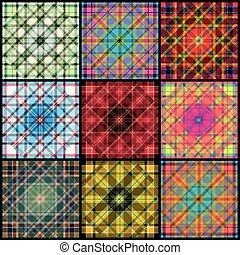 Collection of geometrical patterns